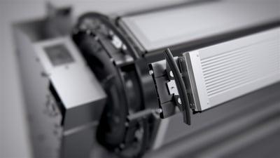 V-Drive Antriebssystem Schnelllauftor ASSA ABLOY RR5000