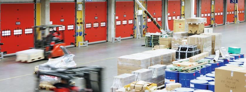 Wie kann man die Geräuschbelastung in Logistikanlagen wirkungsvoll senken?