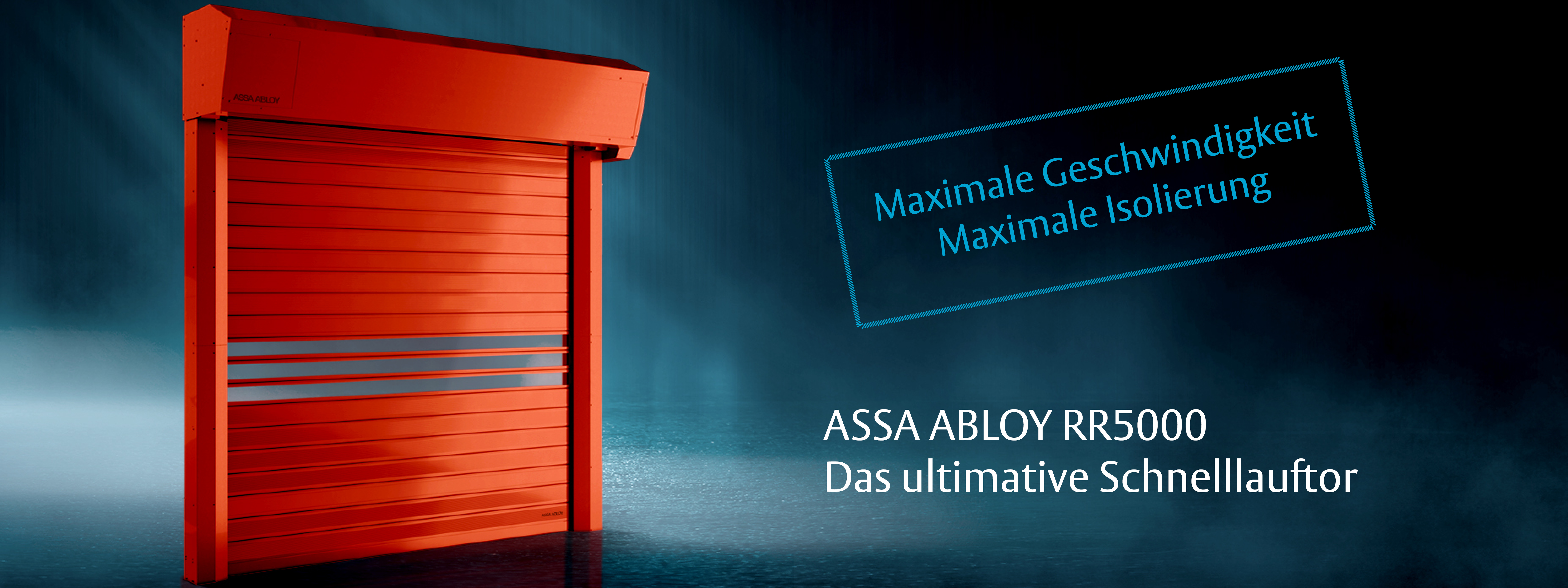 Schnelllauftor ASSA ABLOY RR5000
