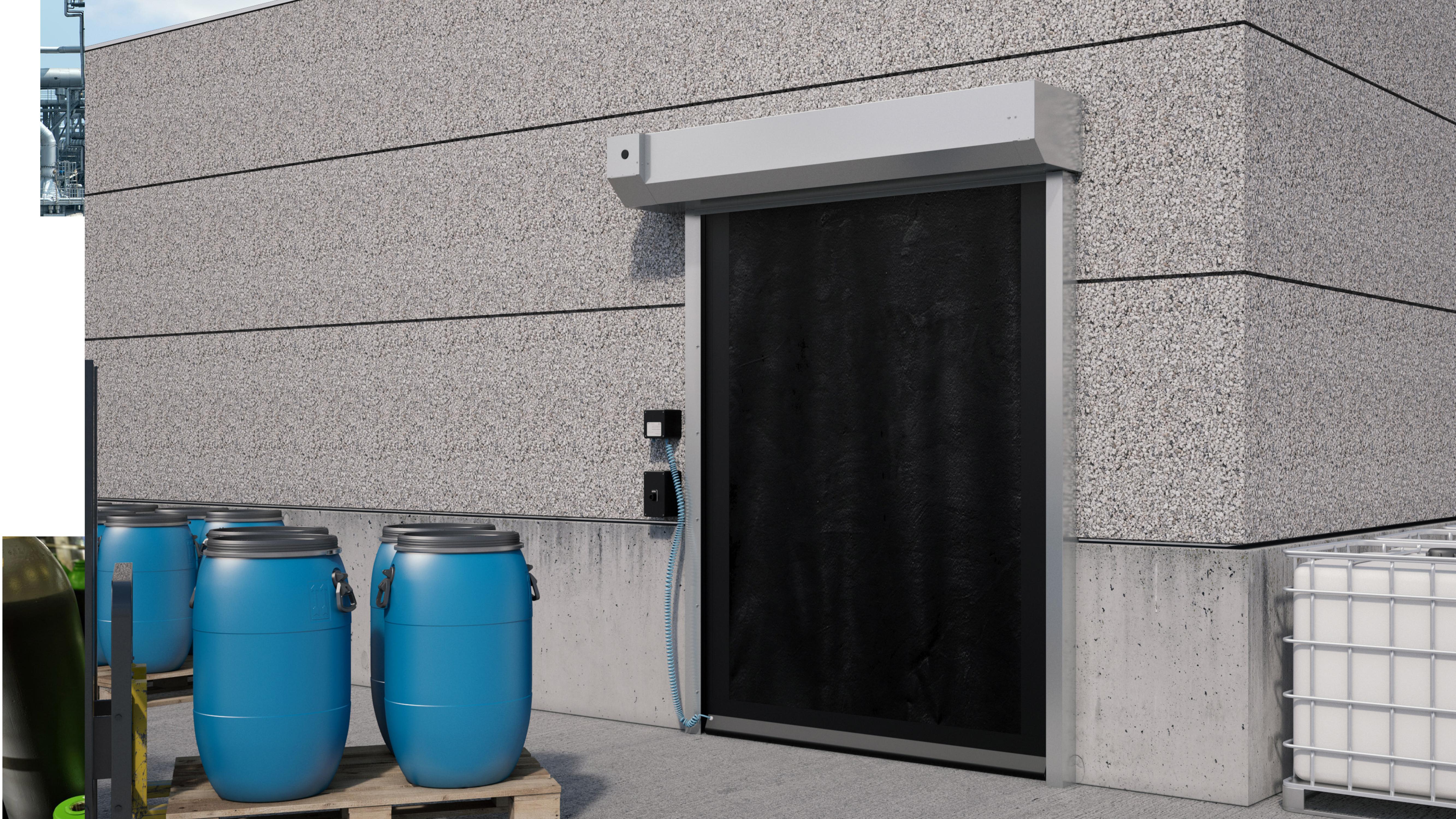 Effiziente und sichere Eingangslösungen: Mit ATEX-Toren Kosten senken & Sicherheit erhöhen